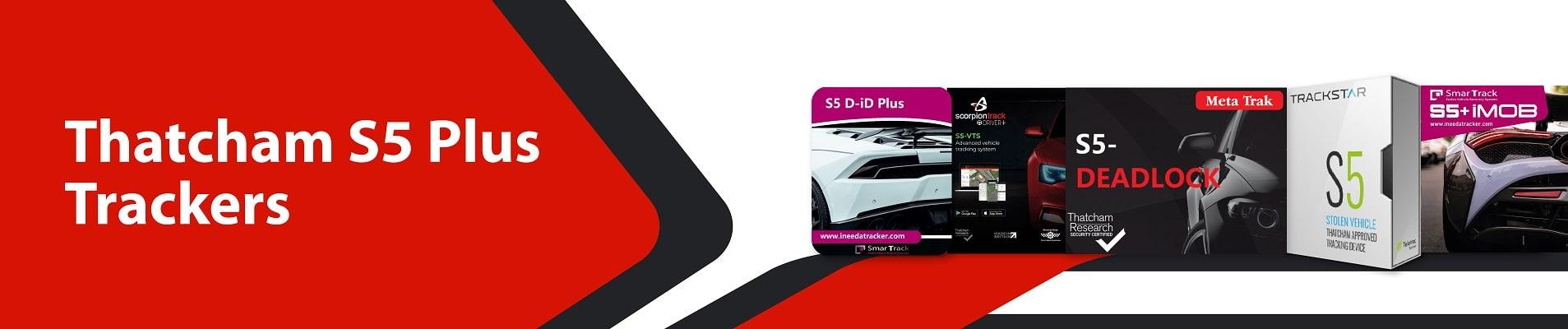 Thatcham S5 Plus Trackers