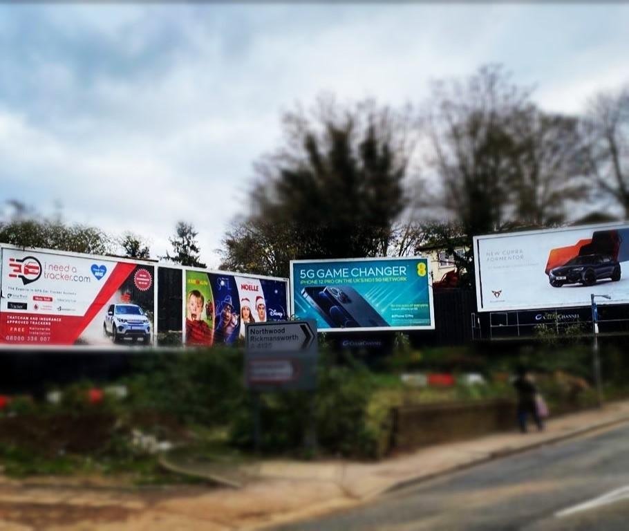Billboard spotted