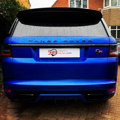 Range Rover SVR Car Tracker