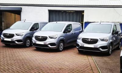 We've bought new vans!